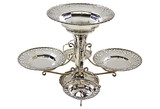 English Silver-Plated Centerpiece