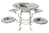 Antique Sterling Silver Epergne