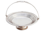 English Round Pierced Basket, C. 1880 (A6558)