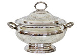 Oval Hand-Engraved Soup Tureen, C.1860 (A7277)