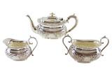 English Tea Set, 3-Pcs, C.1880 (A7422)