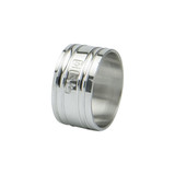Heavy English Pewter Napkin Ring
