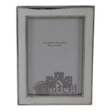 """Finest Quality Sterling /Wood Frame with Sparkling Dots 5"""" x 7"""""""