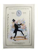 """Tea Towel (Polishing Mr Town Talk Image) 19 3/4"""" x 27 1/2"""" (TT164)"""