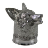 English Pewter Fox Head Jigger/Measure