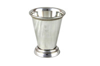 Mint Julep Flared Silver Plate