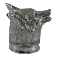 English Pewter Fox Head Jigger/Measure