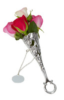 Tussy Mussy Bouquet Holder Silver Plate BOXED (R7760) COMING NOV 2021
