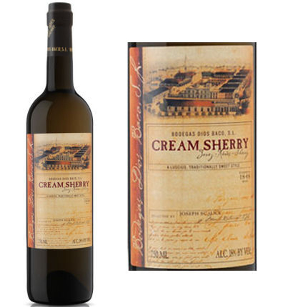 Dios Baco Cream Sherry Jerez 750ml