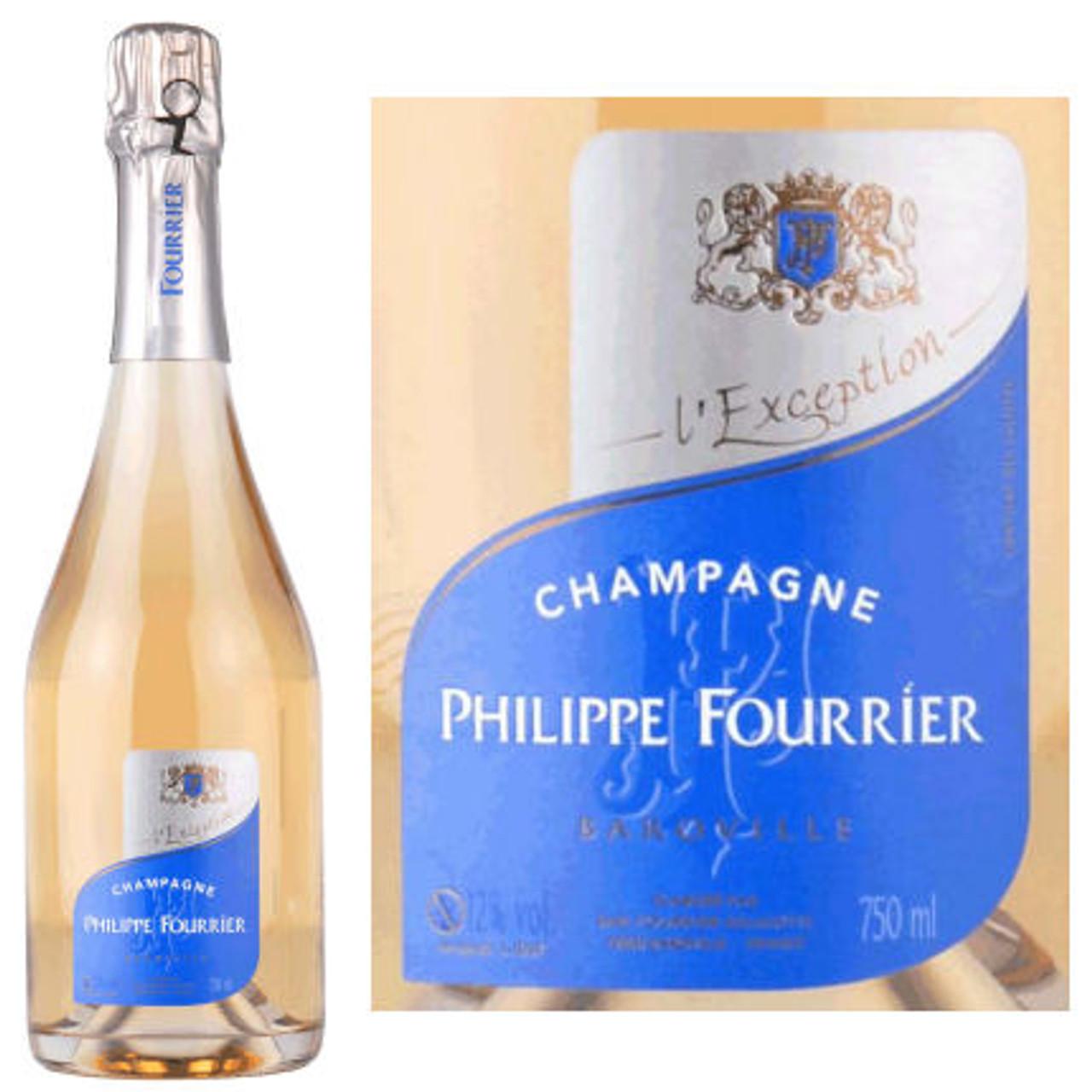 Champagne Philippe Fourrier L'Exception Brut Blanc de Blanc NV