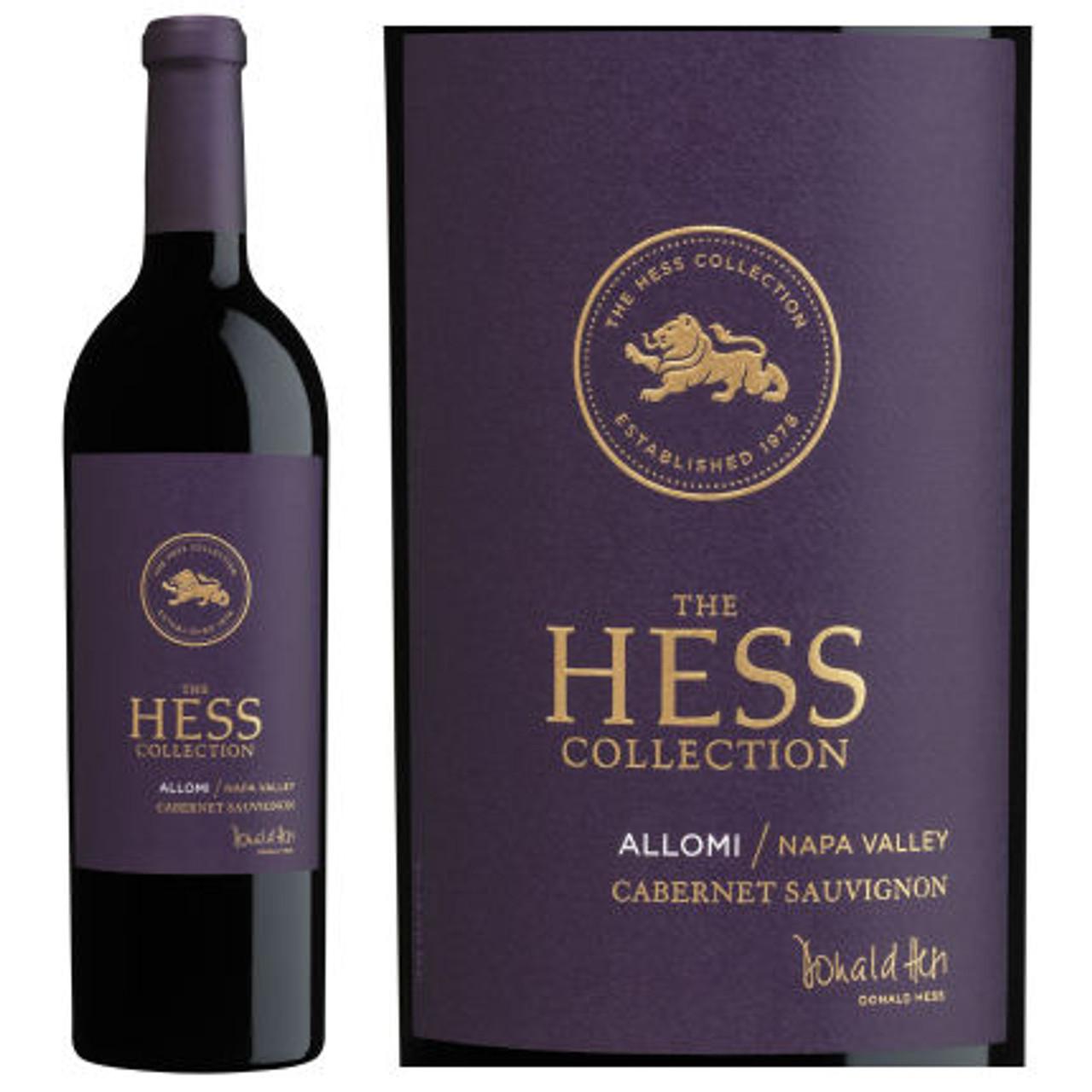 Hess Estate Allomi Vineyard Cabernet 375ML Half Bottle