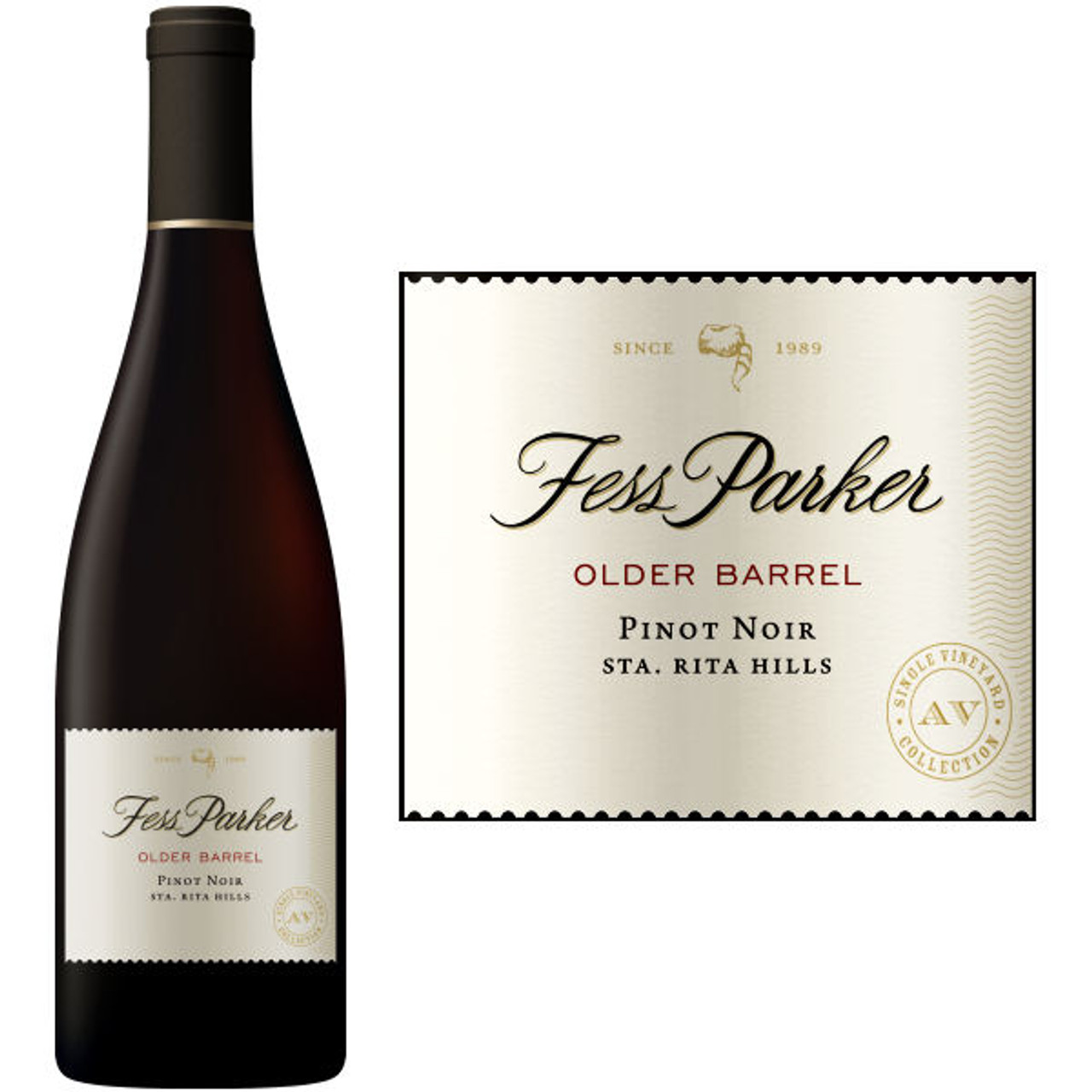 Fess Parker Santa Rita Hills Pommard Clone Pinot Noir