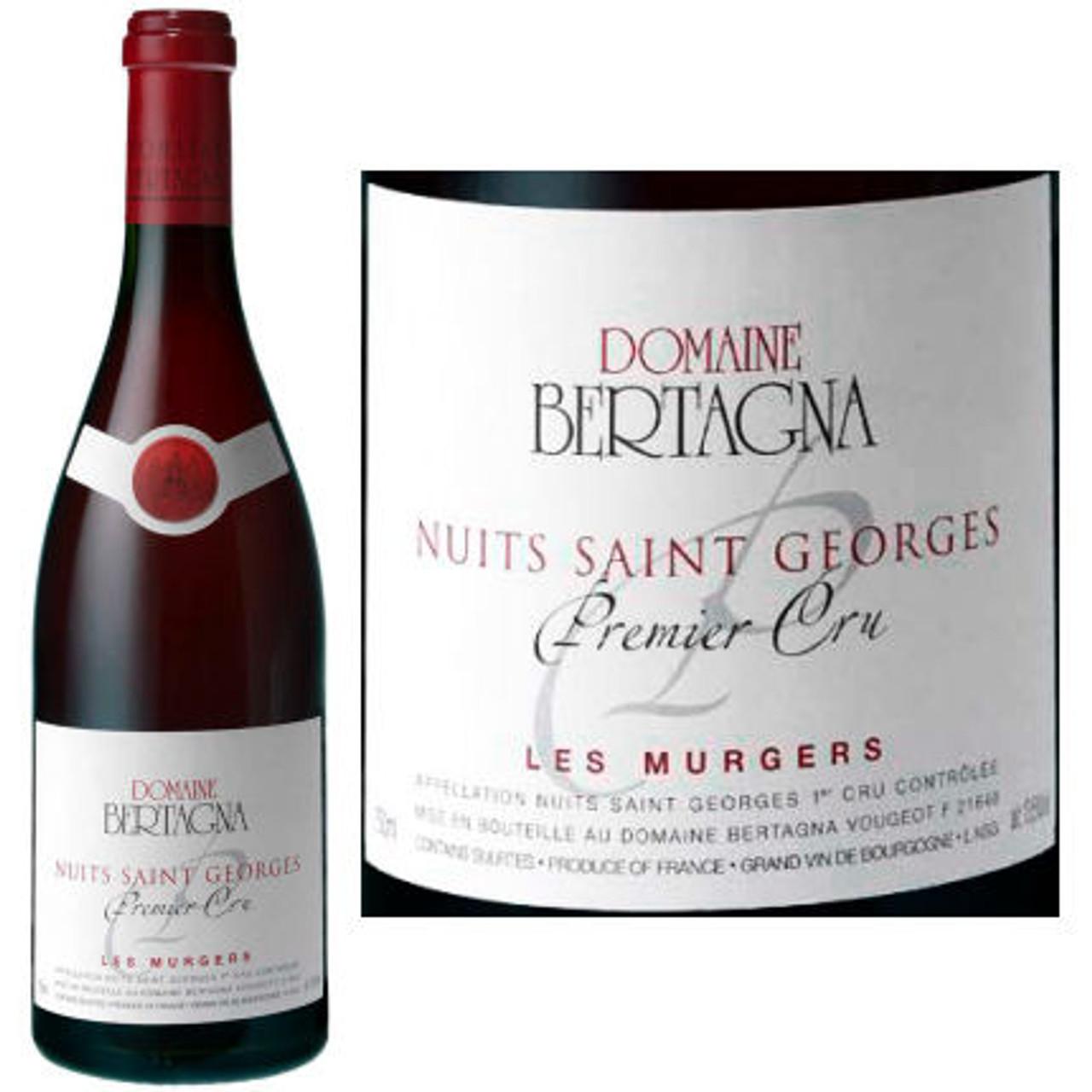 Domaine Bertagna Nuits Saint Georges 1er Cru Les Murgers