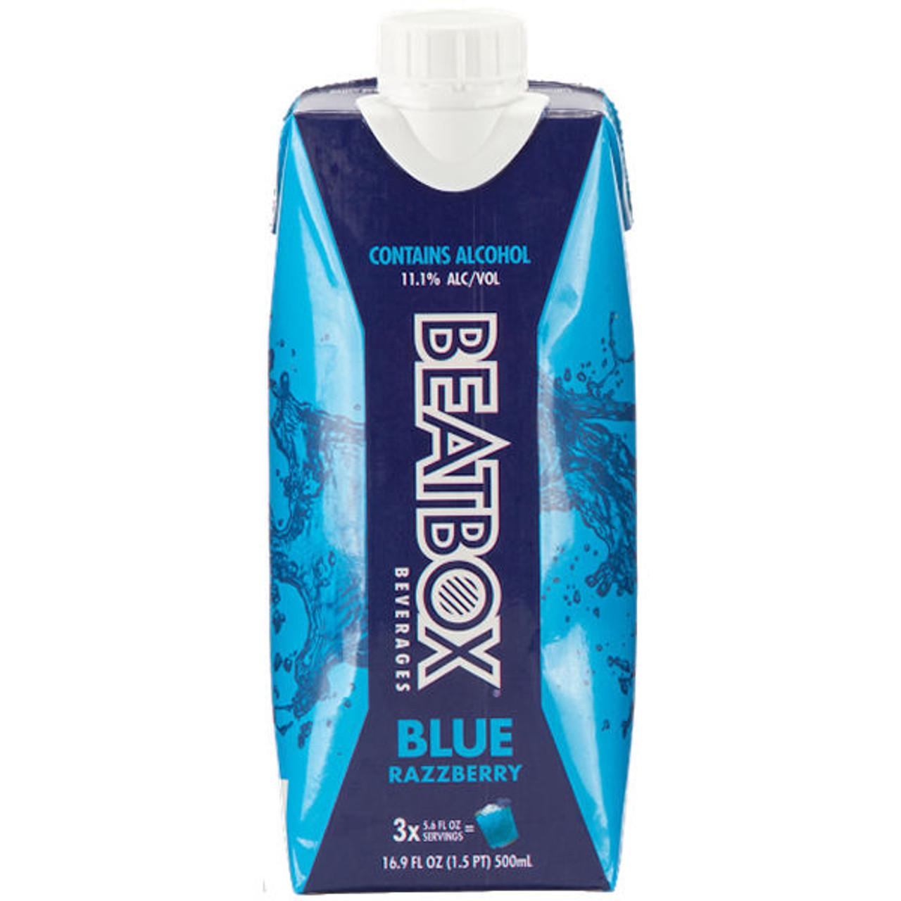 BeatBox Beverages Blue Razzberry 500ml