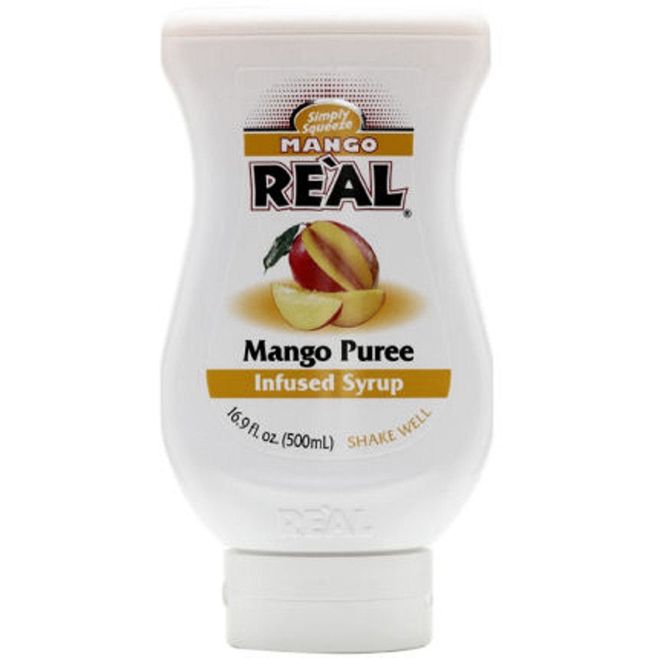 Mango Real Puree Infused Syrup 16.9oz