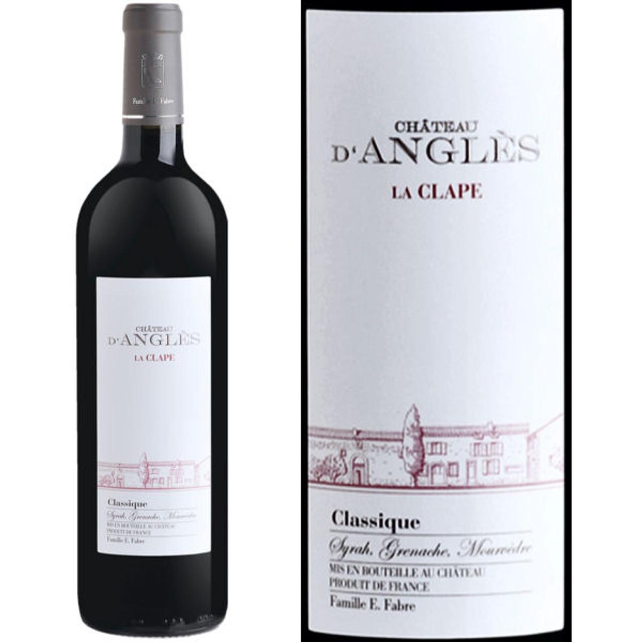 Chateau d'Angles La Clape Languedoc Classique Red