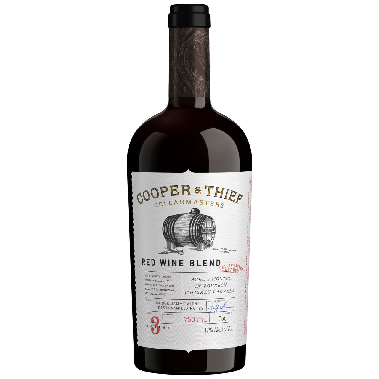 Cooper & Thief Bourbon Barrel Aged California Red Blend