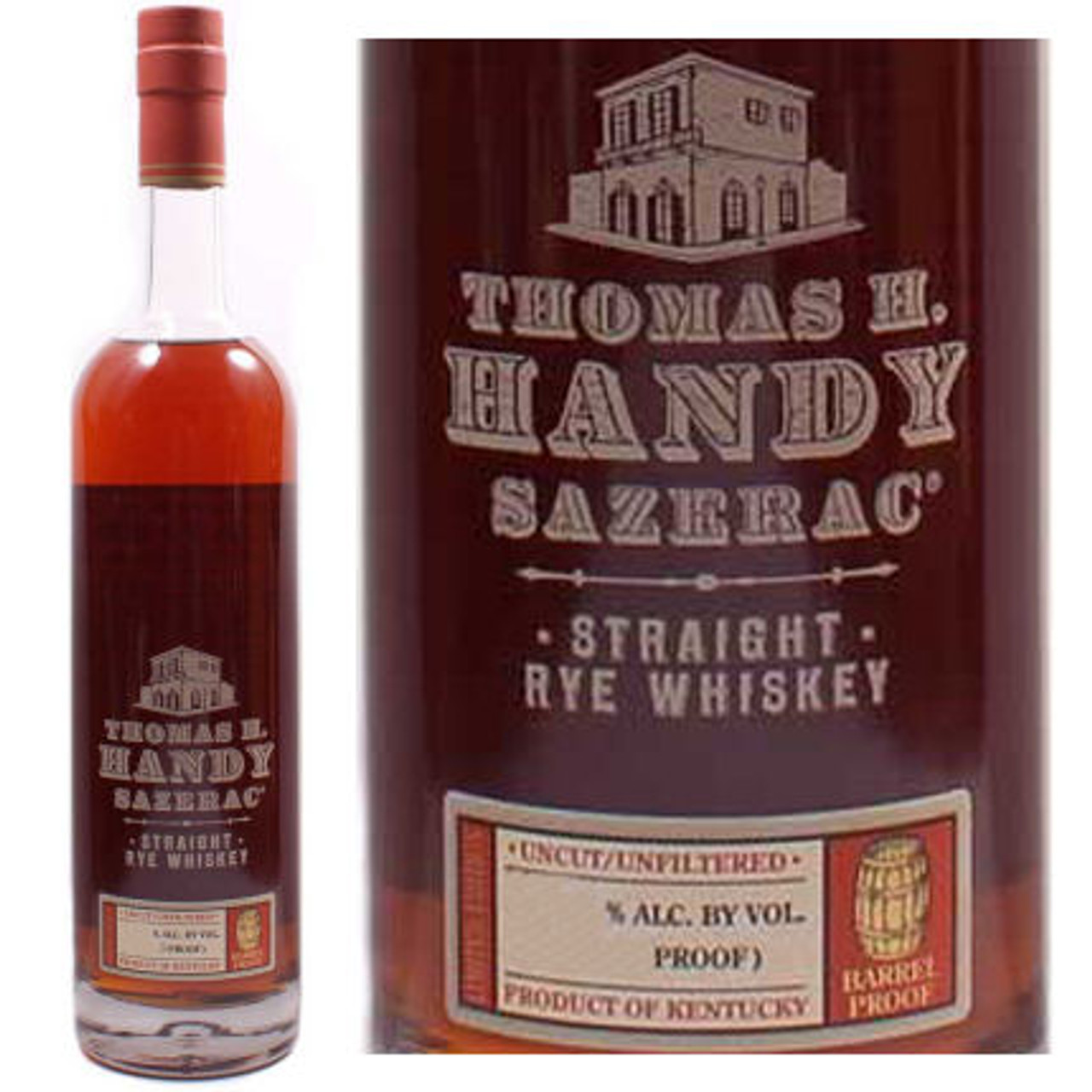 Thomas H. Handy Sazerac Rye Whiskey 750ml