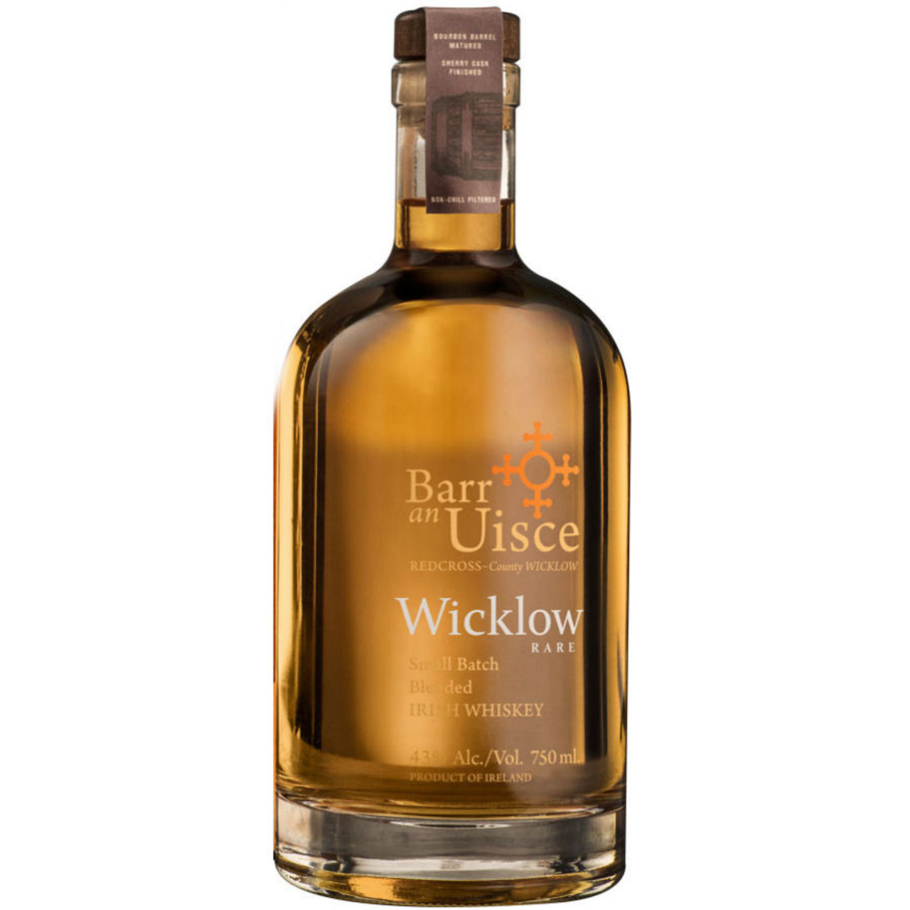 Barr an Uisce Wicklow Rare Small Batch Blended Irish Whiskey 750ml