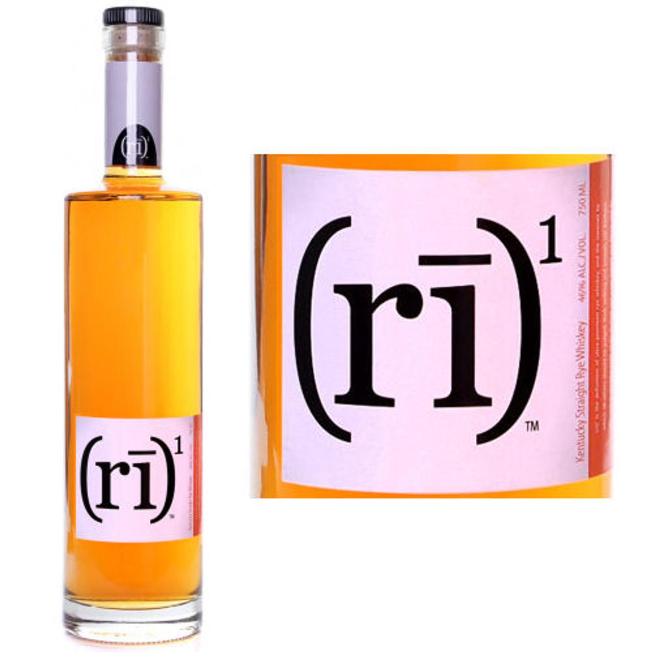 (RI)1 Sraight Rye Whiskey 750ml
