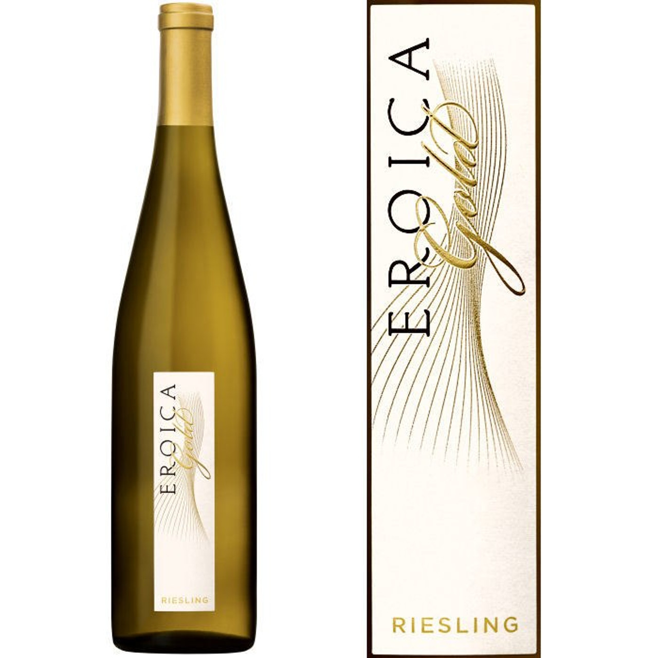 12 Bottle Case Chateau Ste. Michelle - Dr. Loosen Eroica Gold Riesling Washington 2014 Rated 92JS w/ Free Shipping