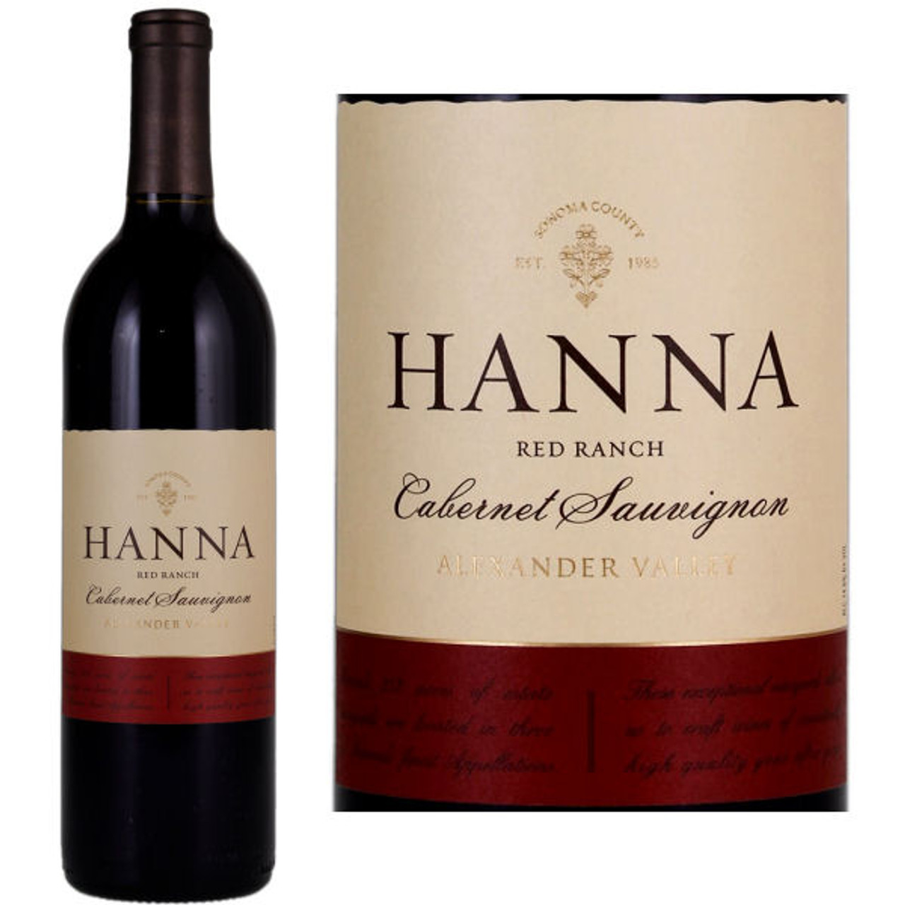 Hanna Red Ranch Alexander Cabernet