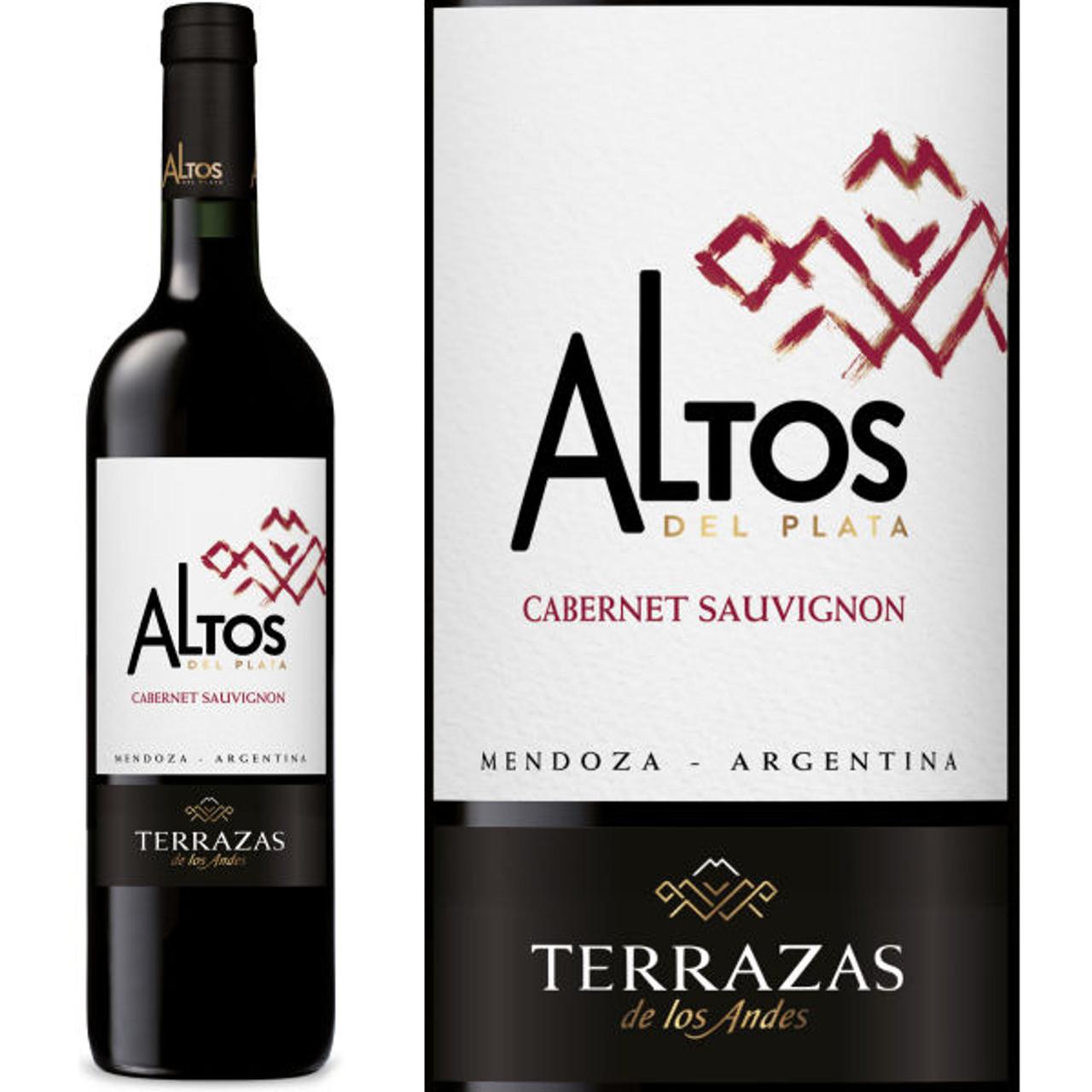 12 Bottle Case Terrazas De Los Andes Altos Del Plata Cabernet 2016 W Free Shipping