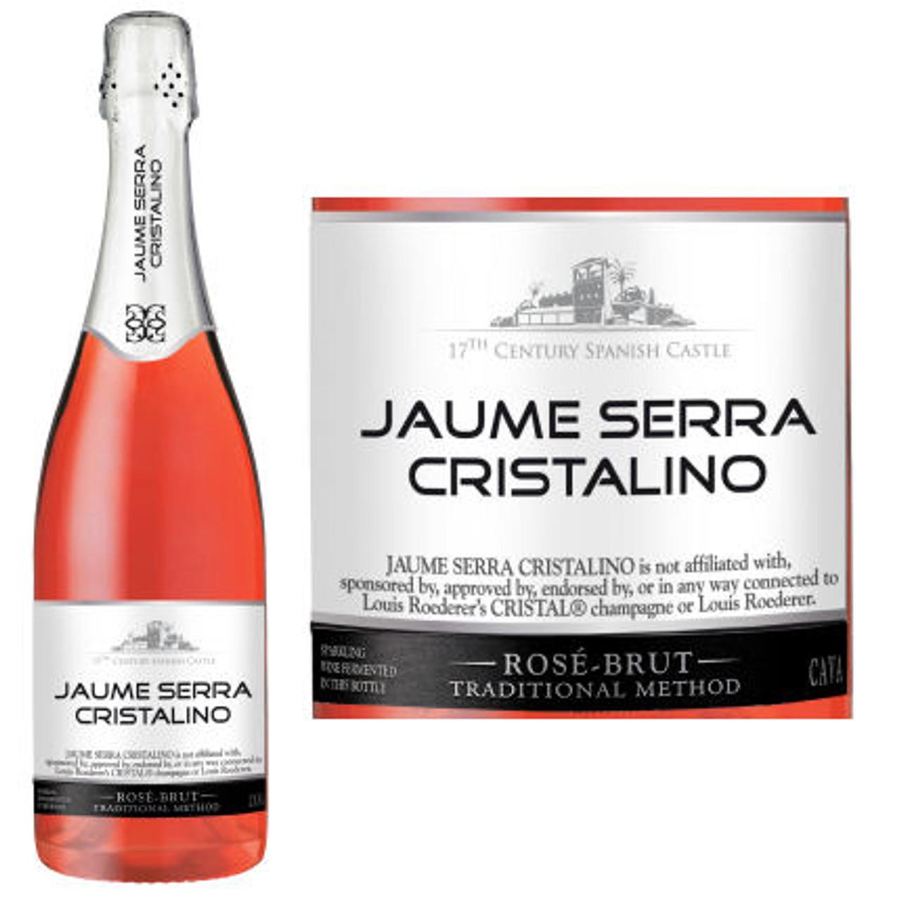 Jaume Serra Cristalino Brut Rose Cava NV