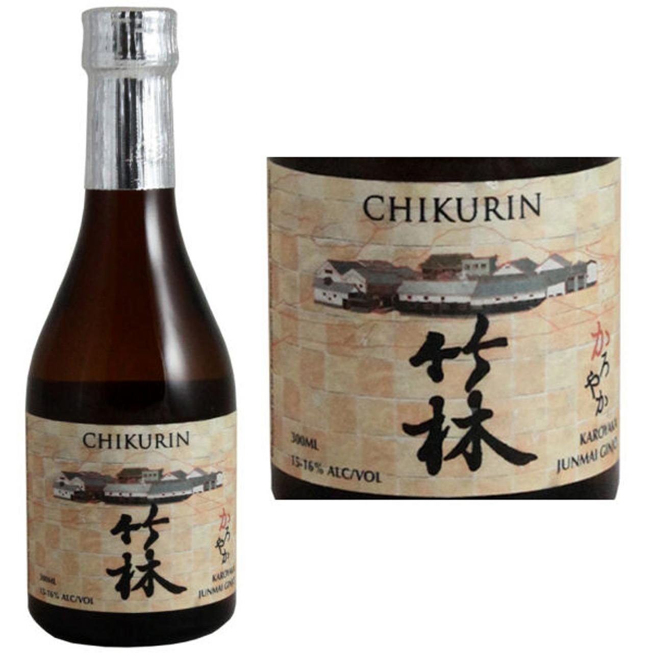 Chikurin Karoyaka Lightness Junmai Ginjo Sake