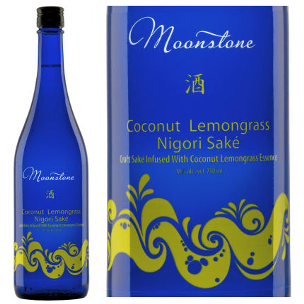 Moonstone Coconut Lemongrass Infused Nigori Sake 375ml