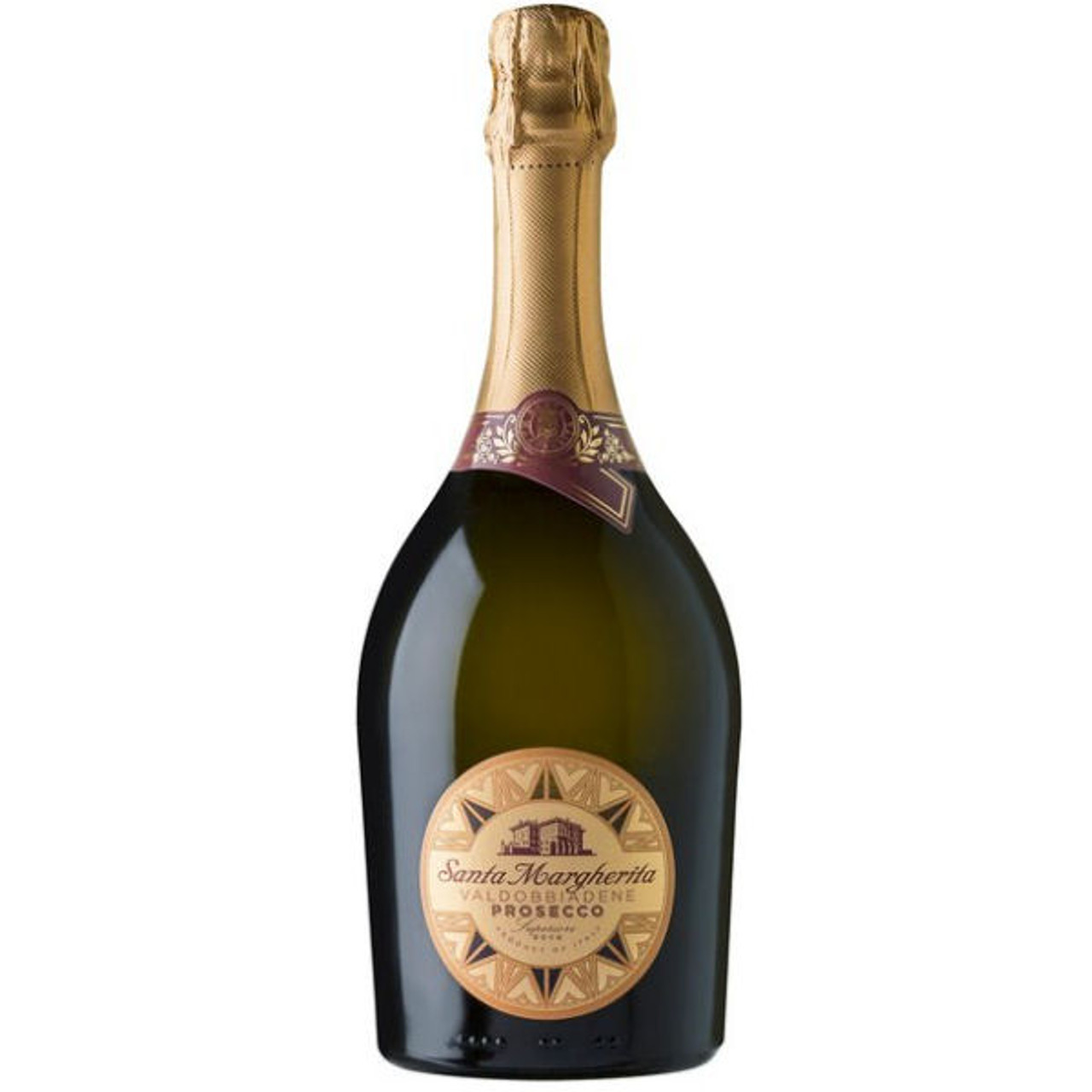 12 Bottle Case Santa Margherita Prosecco di Valdobbiadene Brut NV Rated 91W&S w/ Free Shipping