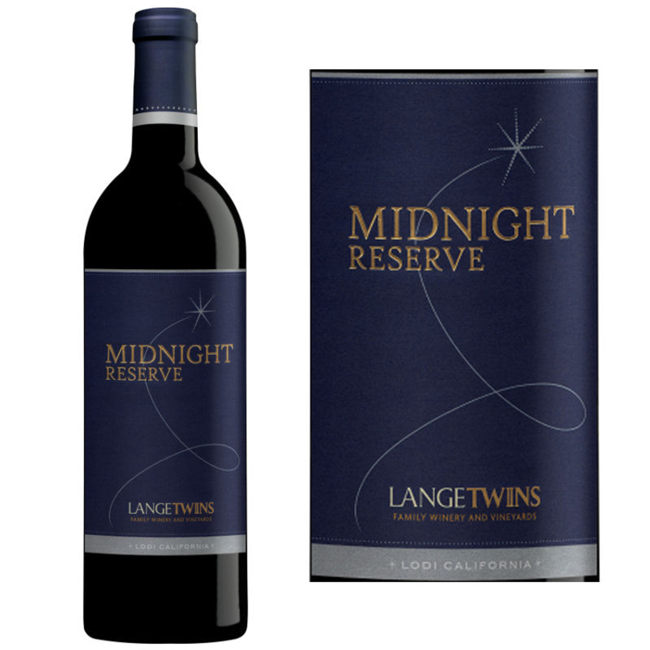 LangeTwins Midnight Reserve Lodi Red Blend