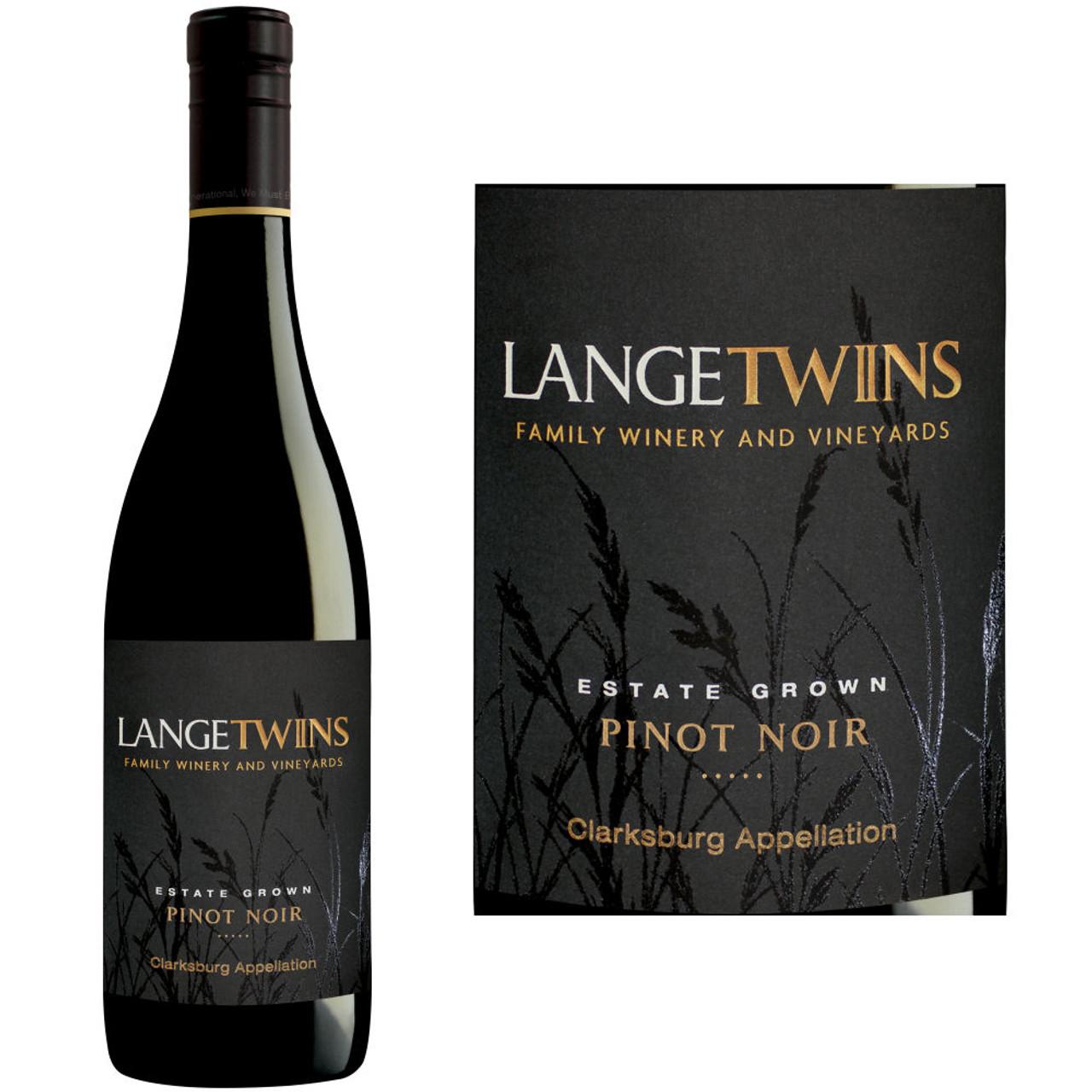 LangeTwins Estate Clarksburg Pinot Noir