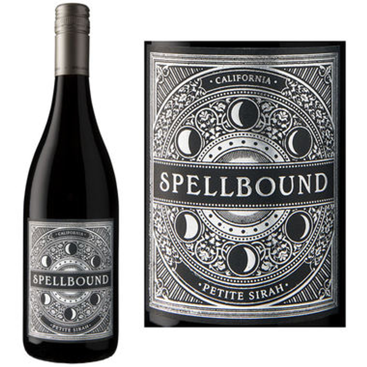 12 Bottle Case Spellbound California Petite Sirah 2016 w/ Free Shipping