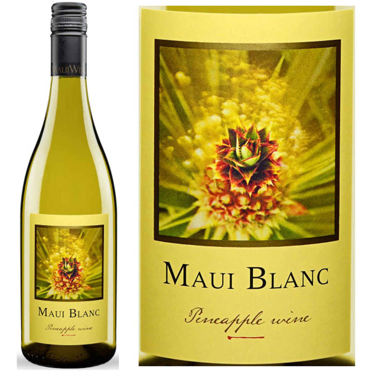 Maui Wine Maui Blanc Off-Dry Pineapple Wine NV (Hawaii)