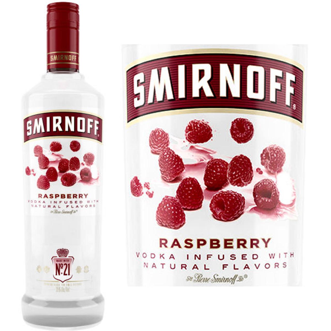 Smirnoff Raspberry Vodka 750ml