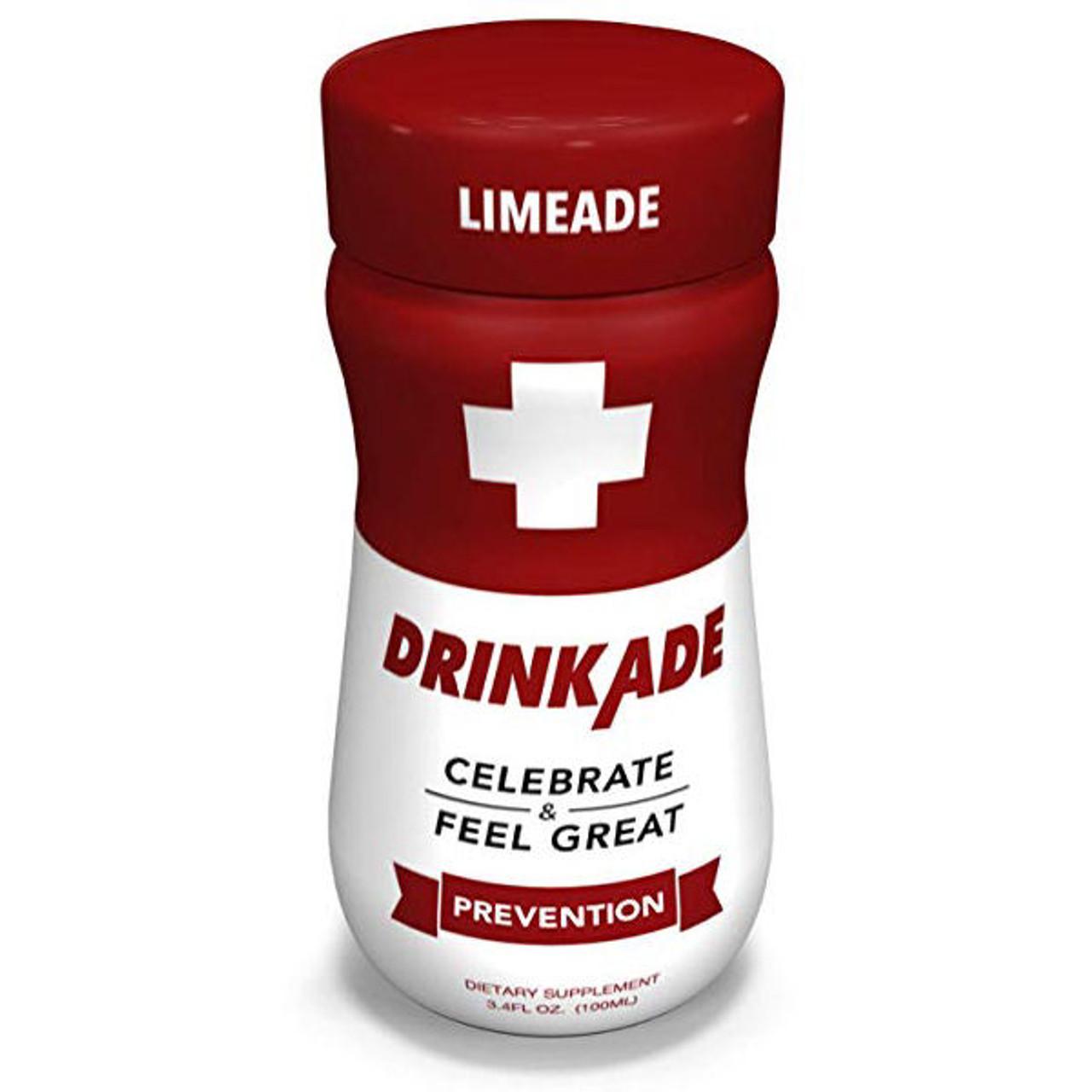DrinkAde Limeade Prevention SINGLE BOTTLE (RED)