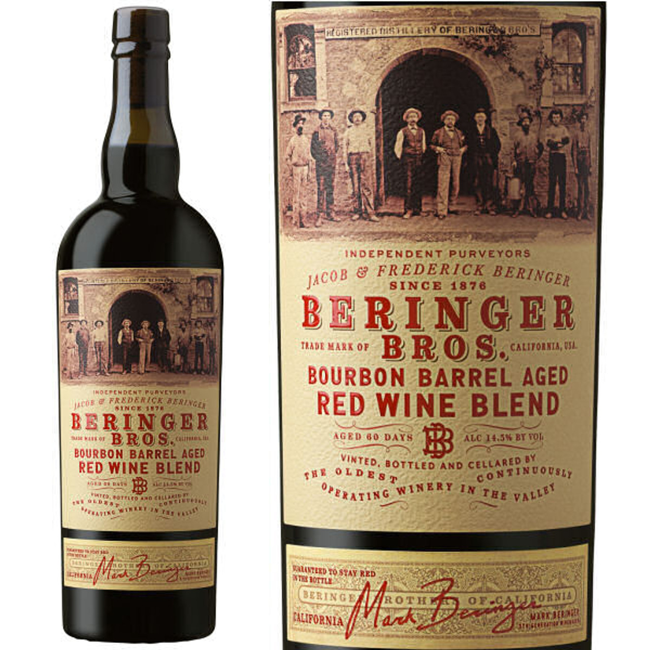 Beringer Bros. Bourbon Barrel Aged Red Blend