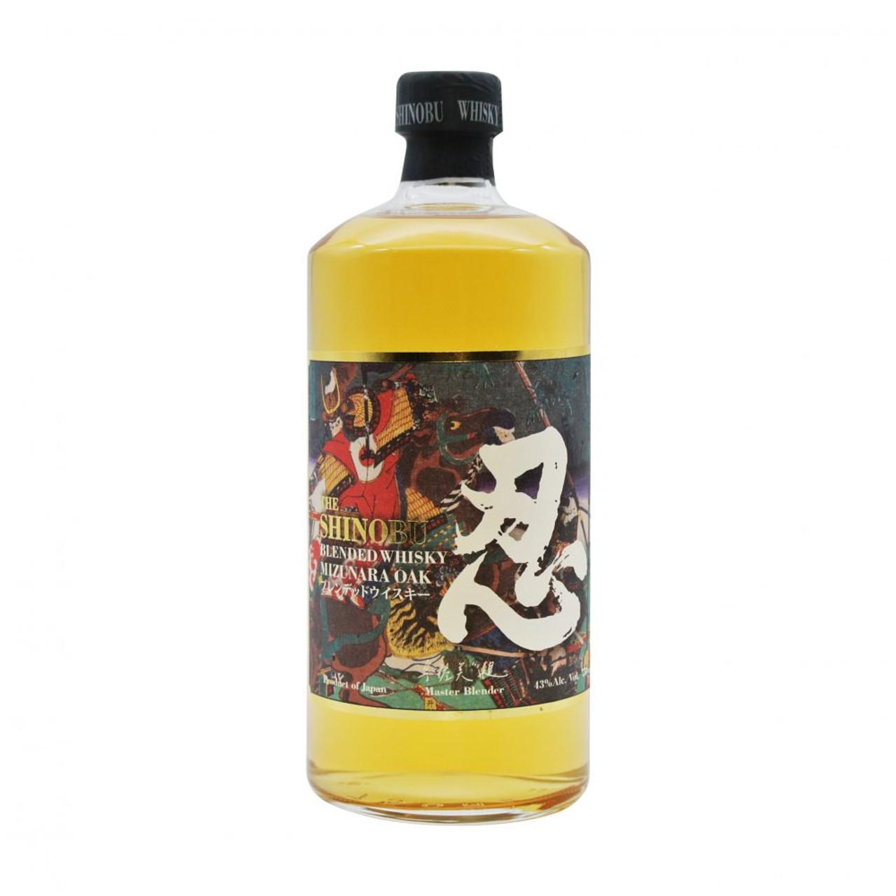 Shinobu Mizunara Oak Finish Blended Japanese Whisky 750ml