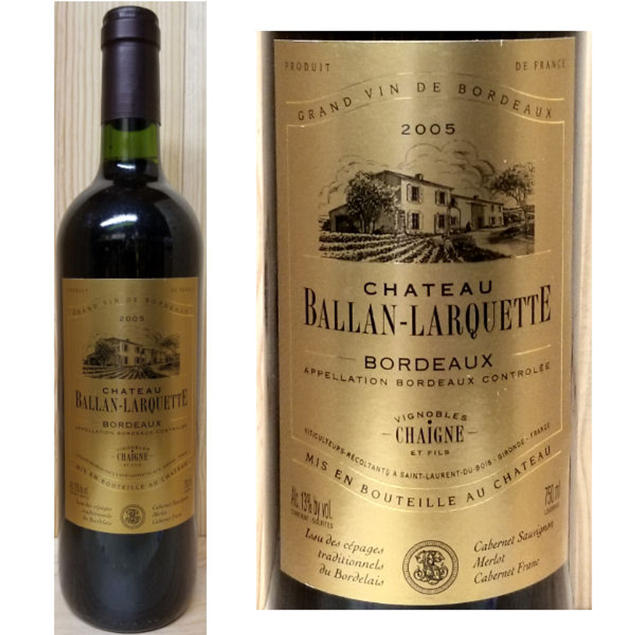 Chateau Ballan-Larquette Bordeaux