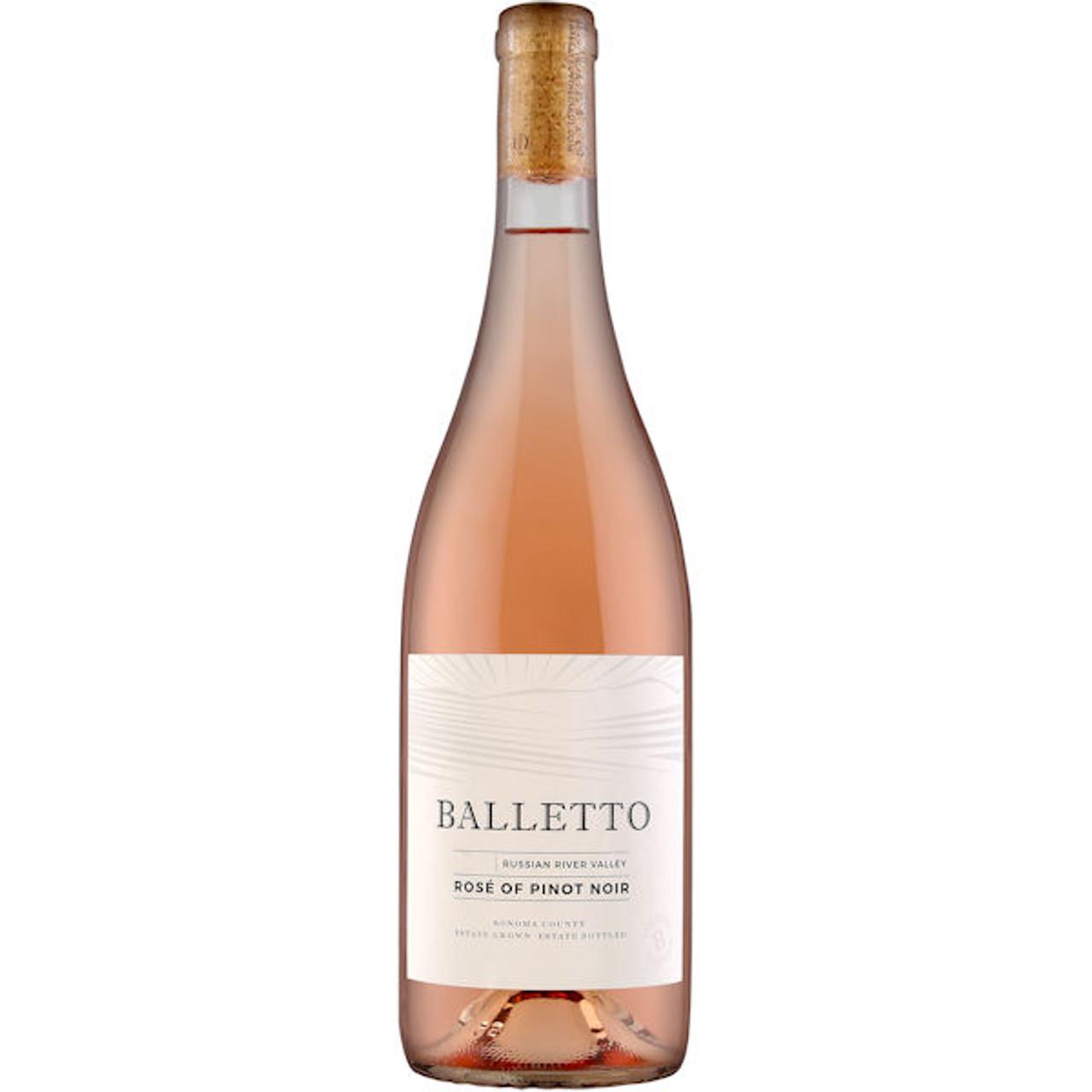 Balletto Russian River Rose of Pinot Noir