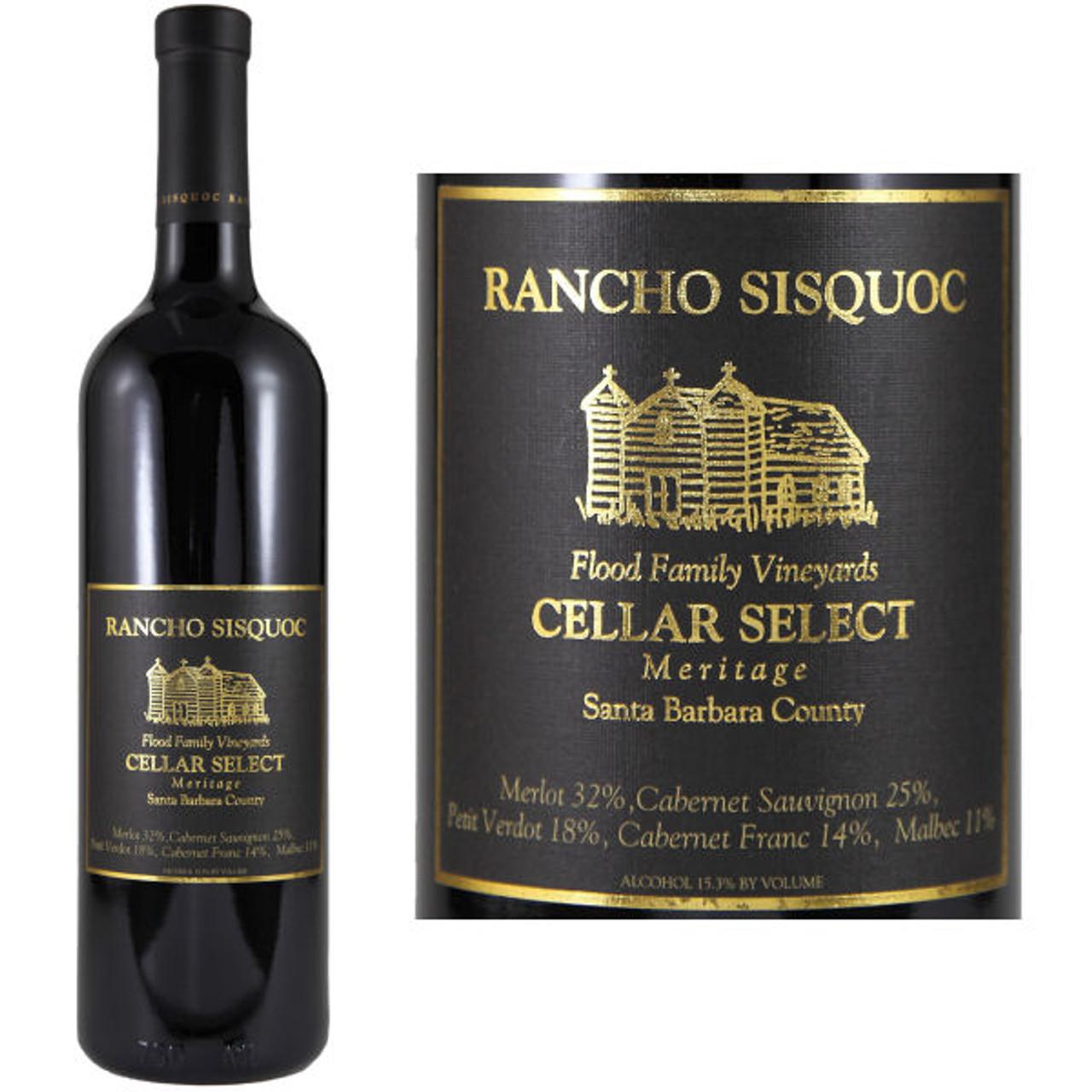 Rancho Sisquoc Cellar Select Meritage