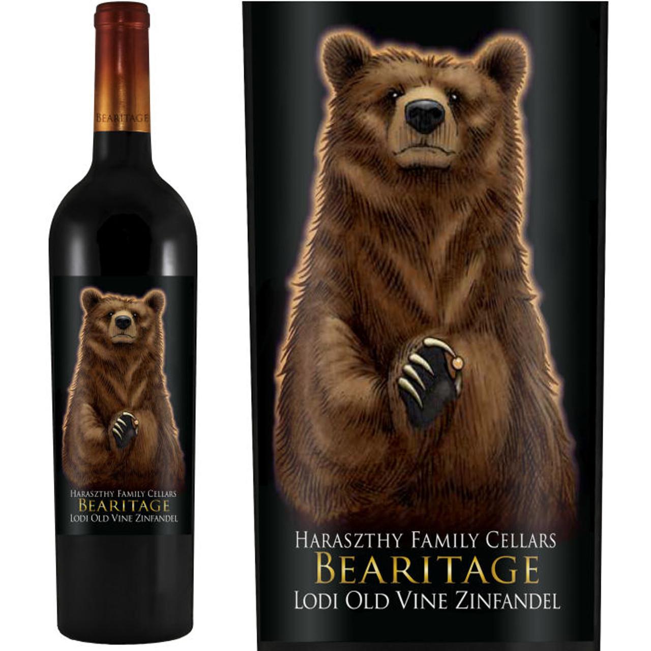 Bearitage by Haraszthy Family Cellars Lodi Old Vine Zinfandel