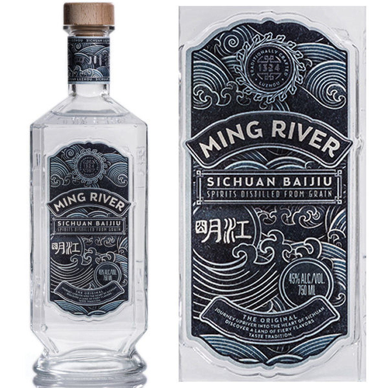 Ming River Sichuan Baijiu Chinese Spirit 750ml