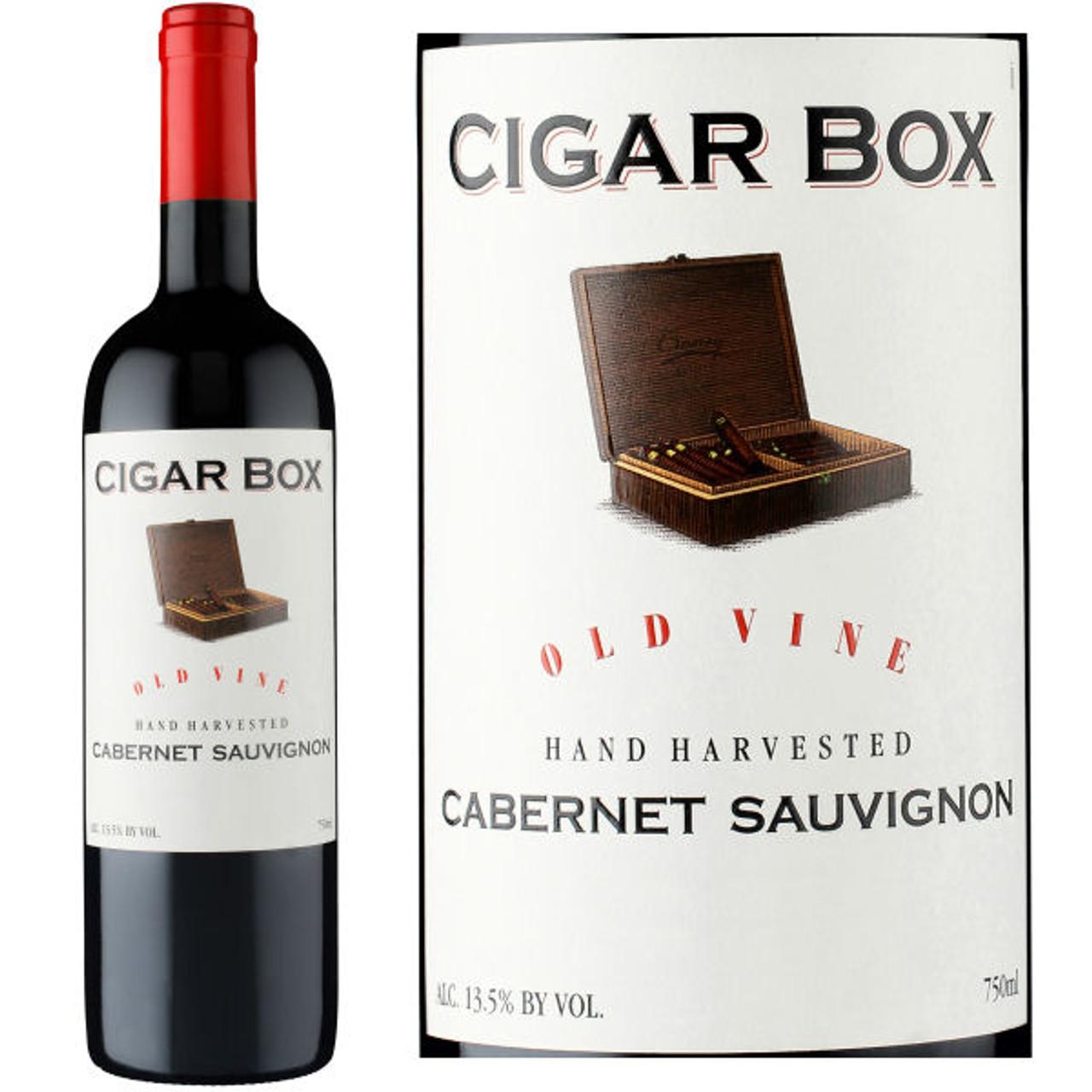 Cigar Box Old Vine Cabernet
