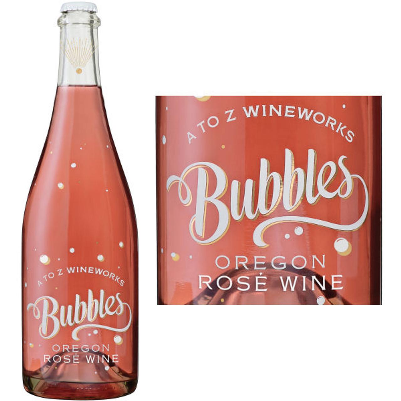 A to Z Wineworks Bubbles Oregon Rose Wine NV