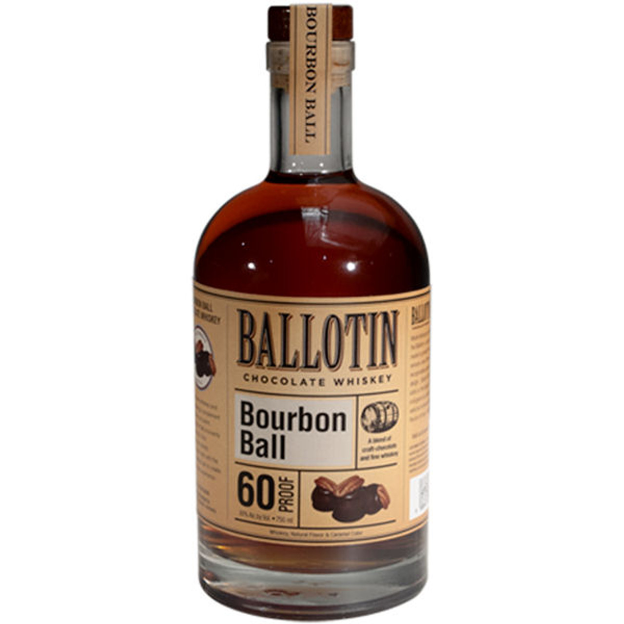 Ballotin Bourbon Ball Chocolate Whiskey 750ml