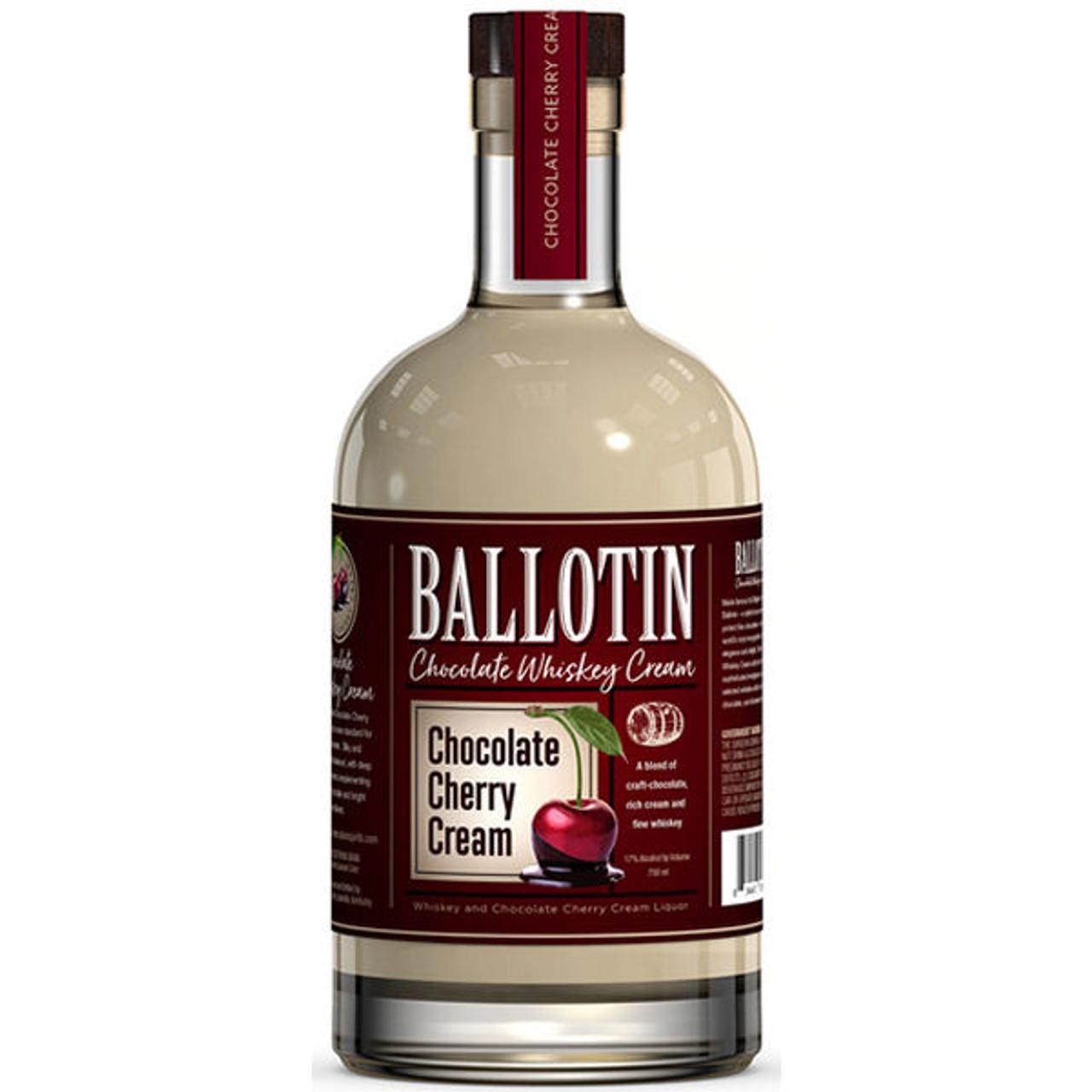 Ballotin Chocolate Cherry Cream Whiskey 750ml