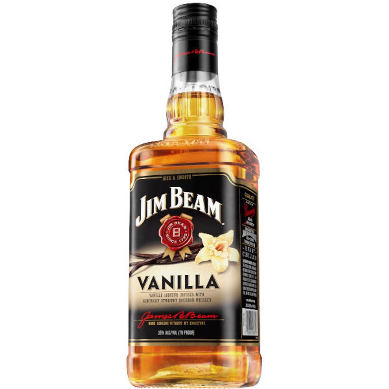 Jim Beam Vanilla Bourbon Liqueur 750ml