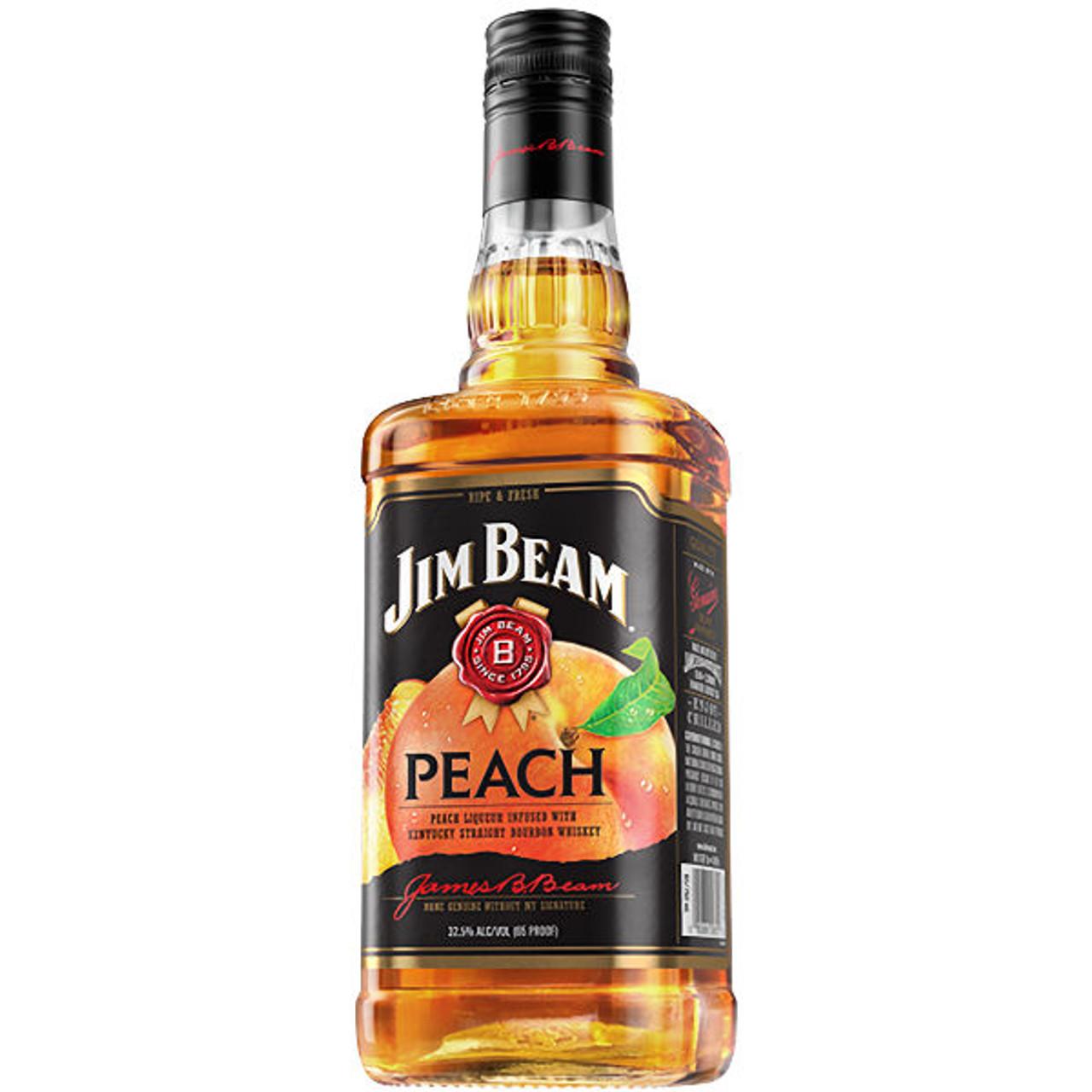 Jim Beam Peach Bourbon Liqueur 750ml